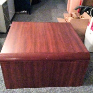 Square coffee or side table wood