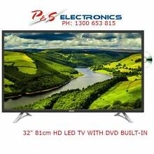 GOOD DEAL!!BRAND NEW AKAI 32″ HD LED TV WITH BUILT-IN DVD PLAYER Greenacre Bankstown Area Preview