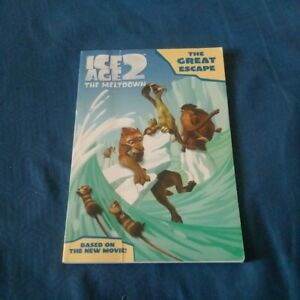 Ice Age 2 The Meltdown - The Great Escape Paperback Reader Book