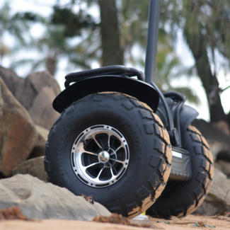 Balanced Electric Off Road Segway Style Scooter Sand Beach Tyres