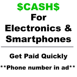 $CASH$ for Apple iPad and iPhone *Used, Cracked or Broken*