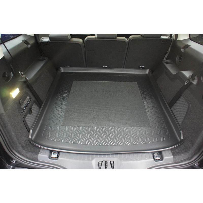 Kofferraum Wanne Laderaumwanne gummiert passt für Ford Galaxy III 5 Sitzer 2015