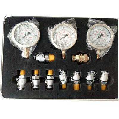 Excavator Hydraulic Pressure Test Kit Hydraulic Testertest Coupling 9