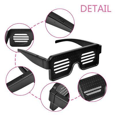 LED Luminous Flash Glasses Shutter Crazy Eyeglass Disco Bar Perform Party (Cheap Designer Eyeglasses For Men)