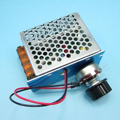 4000w Scr Motor Speed Controller Module Voltage Regulator Dimmer 220v Ac Us