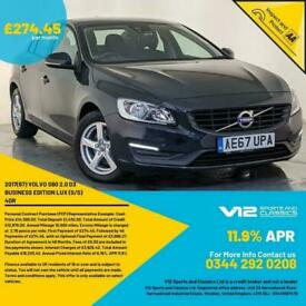 image for 2017 67 VOLVO S60 BUSINESS EDITION LUX SAT NAV PARKING SENSORS SERVICE HISTORY