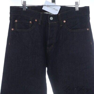 NWT Drop Made in Japan 15oz. Okayama Rigid Indigo Blue Selvedge Denim Jeans 33
