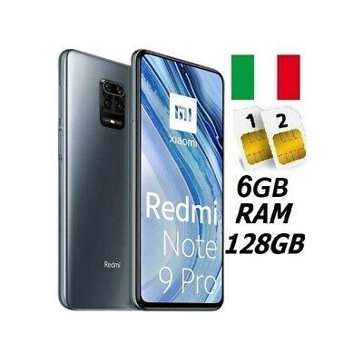 XIAOMI REDMI NOTE 9 PRO DUAL SIM 128GB 6GB RAM GREY GARANZIA ITALIA NO BRAND