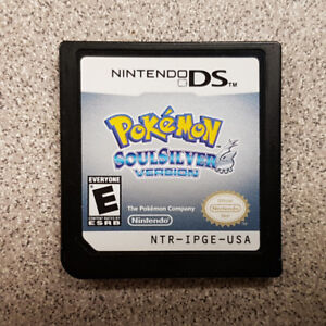 Pokemon Soul Silver Version DS Game