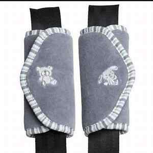 Strap cover for stroller and carseat
