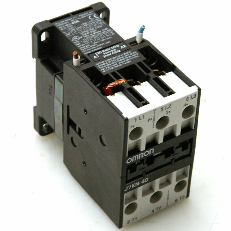Omron J7KN-40 Contactor 40AMP 3 Pole 400VAC 24 Voltage Switch Gears