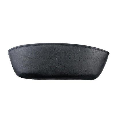 Black Leather Storage Caddy Bag Armrest Pocket Car Seat Catch Gap Slit Organizer