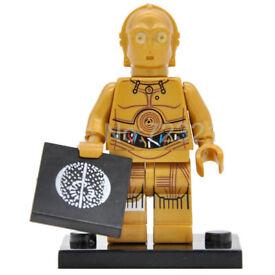 Star Wars C3PO mini figure, *NEW*, New Hope, ESB, ROTJ Lego Compatible