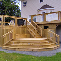 Deck, Fence , Landscape, Masonry and More.