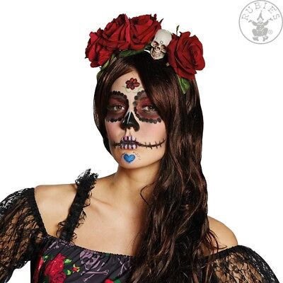 na Tag der Toten Haarreif Karneval Halloween Kopfschmuck (Catrina Tag Der Toten)