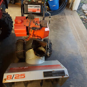 "Craftsman 8hp 25"" cut snowblower"