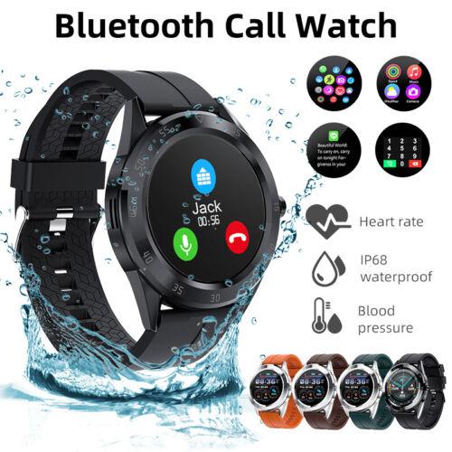 ecg waterproof bluetooth smart watch phone mate