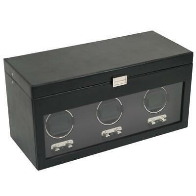 WOLF Heritage 2.1 Triple Watch Winder with Storage Box 27050