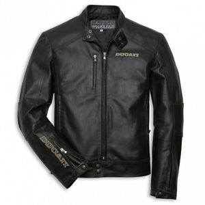 Ducati Monster 20th anniversary Mint Cond. Leather Jacket XXL