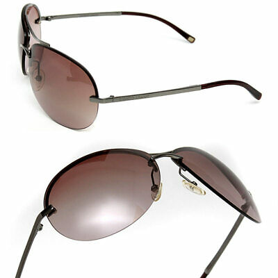 GIORGIO ARMANI Men's PILOT WRAP SUNGLASSES Giorgio Armani Mens Metal Sunglasses