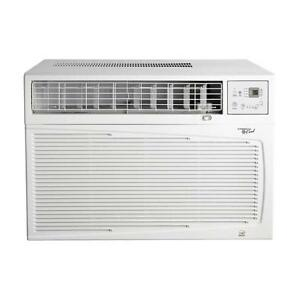 COMMERCIAL COOL - CWH18B 18,000 BTU Cool, 16,000 BTU Heat 9.7 EER Slide Out Chassis Electronic Control Air Conditioner -