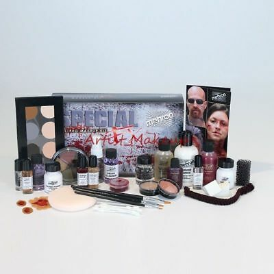 MEHRON PROFESSIONAL SPECIAL EFFECTS FX ALL PRO MAKEUP - Special Effects Make Up Kit