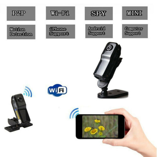 Smallest WiFi Web Camera Wireless MD81S IP Camera Camcorder Removable Card IFA