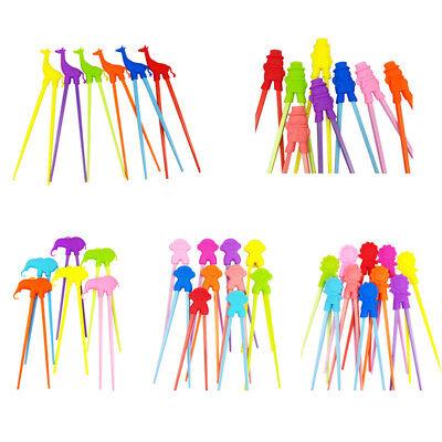 1 Pair Chopsticks For Sushi Baby Kids Cartoon Food Sticks Easy Use Fun Lear - Chopsticks For Kids