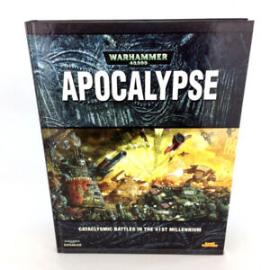 Warhammer 40K Apocalypse Expansion Book Hardcover Games Workshop