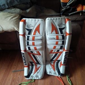 30 plus 1 Hockey pads , blocker and trapper