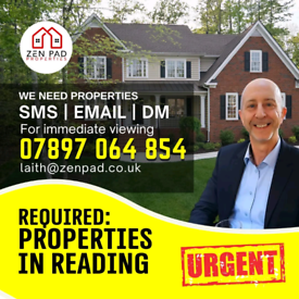 Reading Property Urgently required