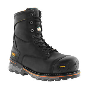 New timberland steel toe work boots