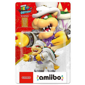 Bowser (Wedding Outfit) Amiibo - Super Mario Odyssey Series - Br