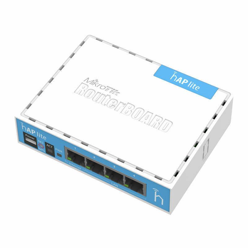 Mikrotik hAP Lite Routerboard RB941-2nD Wireless N 4xPort Ro
