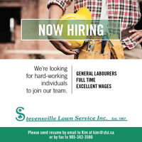 GENERAL LABOURERS NEEDED!!!!