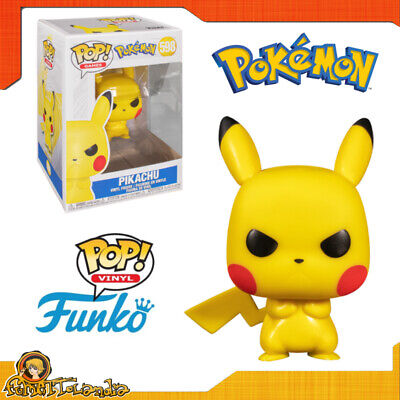 Funko Pop Vinyl Animation Or Games Anime For Pokemon Grumpy Pikachu Angry 598