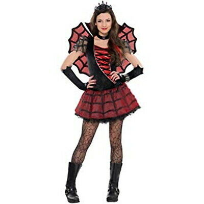 SPIDER PRINCESS GIRLS TEEN JUNIOR S-M-L HALLOWEEN COSTUME - Princess Halloween Costumes Teenage Girl
