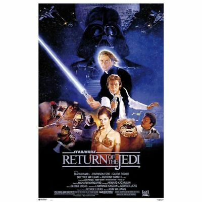 STAR WARS - RETURN OF THE JEDI - MOVIE POSTER - 24x36 CLASSIC VINTAGE 49556
