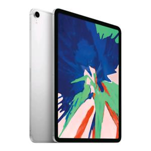 "Apple iPad Pro 11"" 64GB, Wi-Fi + Cellular - Silver."