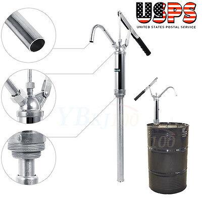 Lever Action Barrel Pump Transfer Fuel Diesel Hand Pump Oil Drum Tank