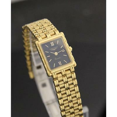 Longines Flagship Gold Plated Ladies Luxury 1990s Swiss Dress Watch RX113