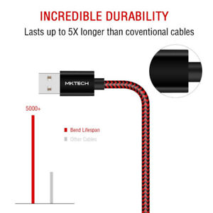 Lightning Cables 3 pack Braided Apple Iphone Ipad
