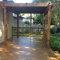 DECK RESTAINING and REFINISHING