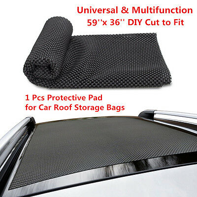 3936 Roof Cargo Bag Protective Mat Car Storage Extra Padding Grip Rack Rug