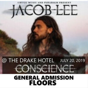 JACOB LEE @ THE DRAKE HOTEL- GENERAL ADMISSION FLOOR TICKETS!