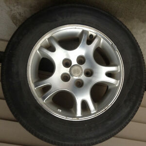 2005 Dodge van rims and tires