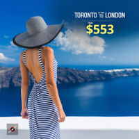 Toronto Flight Offers | Book Cheap Air Tickets with Farenexus