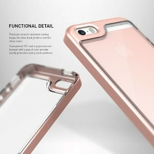 NEW iPhone 5/5s/SE Caseology Skyfall Series Rose Gold/Clear Case