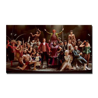 The Greatest Showman Movie Silk Fabric Poster Canvas Art Print 12X21 24X43 Inch