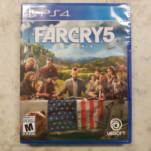 Farcry 5 PS4 Game - NEW
